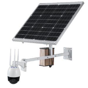 กล้องวงจรปิดโซล่าเซลล์ 3G / 4GWireless IP PTZ Solar รุ่น N-IP7906SL-60W