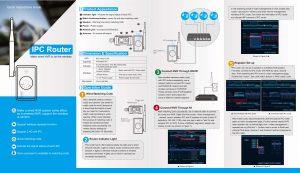 อุปกรณ์ส่งสัญญาณ WIFI ชุด ไร้สาย รุ่น N-IPWR4S
